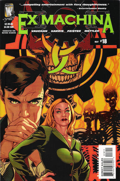Cover for Ex Machina (DC, 2004 series) #18