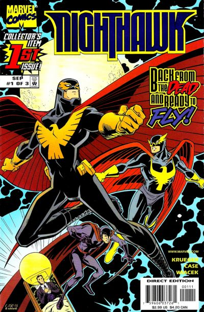 Cover for Nighthawk (Marvel, 1998 series) #1