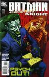 Cover for Batman: Journey into Knight (DC, 2005 series) #11