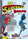 Cover for Superman Supacomic (K. G. Murray, 1959 series) #15