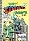 Cover for Superman Supacomic (K. G. Murray, 1959 series) #27