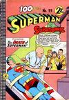 Cover for Superman Supacomic (K. G. Murray, 1959 series) #33