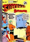 Cover for Superman Supacomic (K. G. Murray, 1959 series) #54