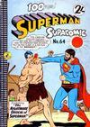 Cover for Superman Supacomic (K. G. Murray, 1959 series) #64