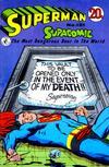 Cover for Superman Supacomic (K. G. Murray, 1959 series) #121