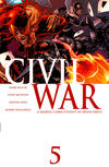 Cover for Civil War (Marvel, 2006 series) #5 [Standard Cover]