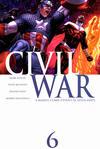 Cover for Civil War (Marvel, 2006 series) #6 [Standard Cover]