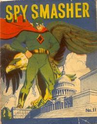 Cover Thumbnail for Spy Smasher [Mighty Midget Comic] (Samuel E. Lowe & Co., 1942 series) #11