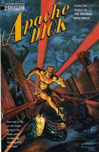 Cover Thumbnail for Apache Dick (Malibu, 1990 series) #2