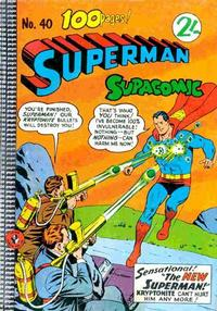 Cover Thumbnail for Superman Supacomic (K. G. Murray, 1959 series) #40