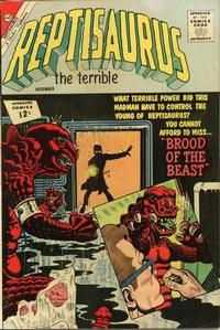 Cover Thumbnail for Reptisaurus (Charlton, 1962 series) #8