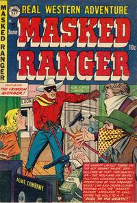 Cover Thumbnail for Masked Ranger (Premier Magazines, 1954 series) #2