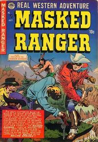 Cover Thumbnail for Masked Ranger (Premier Magazines, 1954 series) #4