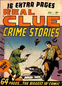 Cover Thumbnail for Real Clue Crime Stories (Hillman, 1947 series) #v5#6 [54]
