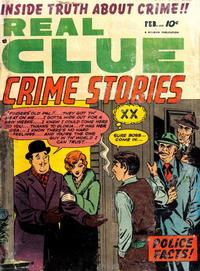 Cover Thumbnail for Real Clue Crime Stories (Hillman, 1947 series) #v6#12 [72]