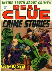 Cover Thumbnail for Real Clue Crime Stories (Hillman, 1947 series) #v7#5 [77]