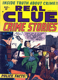 Cover Thumbnail for Real Clue Crime Stories (Hillman, 1947 series) #v8#3 [87]