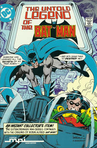 Cover Thumbnail for The Untold Legend of the Batman [MPI Audio Edition] (DC, 1989 series) #2