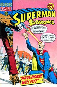 Cover Thumbnail for Superman Supacomic (K. G. Murray, 1959 series) #168