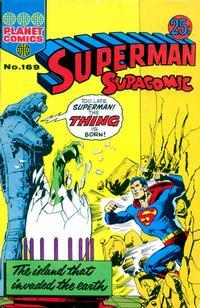 Cover Thumbnail for Superman Supacomic (K. G. Murray, 1959 series) #169