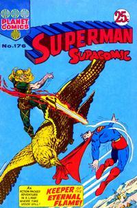 Cover Thumbnail for Superman Supacomic (K. G. Murray, 1959 series) #176