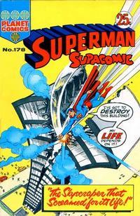 Cover Thumbnail for Superman Supacomic (K. G. Murray, 1959 series) #178