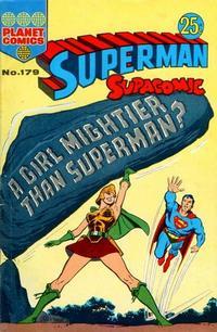 Cover Thumbnail for Superman Supacomic (K. G. Murray, 1959 series) #179