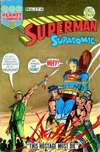 Cover Thumbnail for Superman Supacomic (K. G. Murray, 1959 series) #174