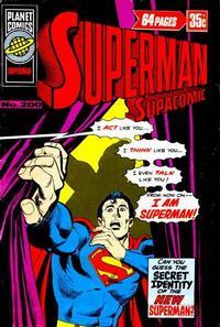 Cover Thumbnail for Superman Supacomic (K. G. Murray, 1959 series) #200