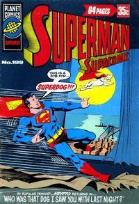 Cover Thumbnail for Superman Supacomic (K. G. Murray, 1959 series) #199
