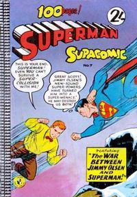 Cover Thumbnail for Superman Supacomic (K. G. Murray, 1959 series) #7