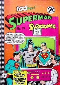 Cover Thumbnail for Superman Supacomic (K. G. Murray, 1959 series) #19