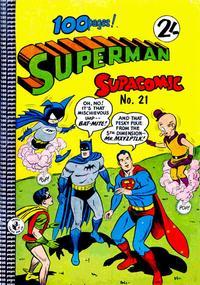 Cover Thumbnail for Superman Supacomic (K. G. Murray, 1959 series) #21