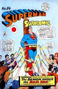 Cover Thumbnail for Superman Supacomic (K. G. Murray, 1959 series) #84