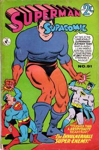 Cover Thumbnail for Superman Supacomic (K. G. Murray, 1959 series) #91