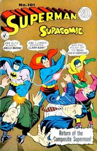 Cover Thumbnail for Superman Supacomic (K. G. Murray, 1959 series) #101
