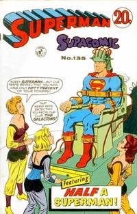 Cover Thumbnail for Superman Supacomic (K. G. Murray, 1959 series) #135
