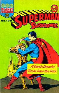 Cover Thumbnail for Superman Supacomic (K. G. Murray, 1959 series) #170