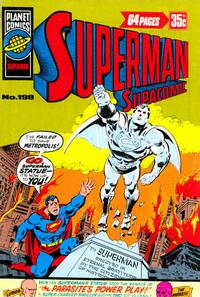 Cover Thumbnail for Superman Supacomic (K. G. Murray, 1959 series) #198