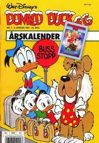 Cover Thumbnail for Donald Duck & Co (Hjemmet / Egmont, 1948 series) #1/1991