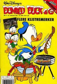 Cover Thumbnail for Donald Duck & Co (Hjemmet / Egmont, 1948 series) #4/1991