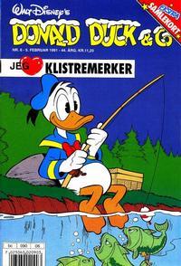 Cover Thumbnail for Donald Duck & Co (Hjemmet / Egmont, 1948 series) #6/1991