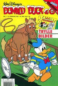 Cover Thumbnail for Donald Duck & Co (Hjemmet / Egmont, 1948 series) #7/1991