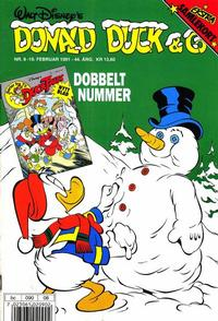 Cover Thumbnail for Donald Duck & Co (Hjemmet / Egmont, 1948 series) #8/1991