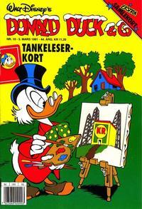 Cover Thumbnail for Donald Duck & Co (Hjemmet / Egmont, 1948 series) #10/1991