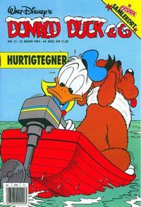 Cover Thumbnail for Donald Duck & Co (Hjemmet / Egmont, 1948 series) #11/1991