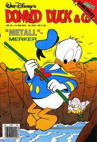 Cover Thumbnail for Donald Duck & Co (Hjemmet / Egmont, 1948 series) #20/1991