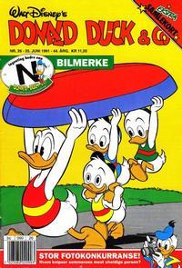Cover Thumbnail for Donald Duck & Co (Hjemmet / Egmont, 1948 series) #26/1991