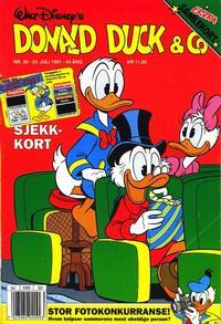 Cover Thumbnail for Donald Duck & Co (Hjemmet / Egmont, 1948 series) #30/1991