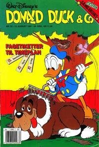 Cover Thumbnail for Donald Duck & Co (Hjemmet / Egmont, 1948 series) #33/1991